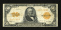 Large Size:Gold Certificates, Fr. 1200 $50 1922 Gold Certificate Fine. No holes are noted on this popular type that exhibits a faded signature in the lowe...