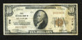 National Bank Notes:Missouri, Saint Louis, MO - $10 1929 Ty. 1 First NB Ch. # 170. Officers areC.L. Allen and W.W. Smith. The right-hand side of the ...