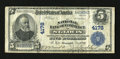 National Bank Notes:Missouri, Saint Louis, MO - $5 1902 Plain Back Fr. 601 The NB of Commerce Ch.# 4178. This note is still white and quite crisp, bu...