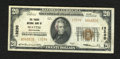 National Bank Notes:Washington, Seattle, WA - $20 1929 Ty. 2 The Pacific NB Ch. # 13230. The faceshows a couple of spots of red ink from a teller stamp...