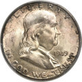 Franklin Half Dollars, 1949-D 50C MS66 Full Bell Lines PCGS....