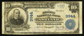 National Bank Notes:Kentucky, Ashland, KY - $10 1902 Plain Back Fr. 626 The Second NB Ch. # 3944....