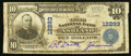 National Bank Notes:Kentucky, Ashland, KY - $10 1902 Plain Back Fr. 635 The Third NB Ch. # 12293....