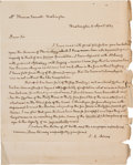 Autographs:U.S. Presidents, John Quincy Adams Autograph Letter Signed...