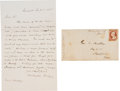 Autographs:Authors, Washington Irving Autograph Letter Signed....