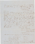 Autographs:Military Figures, George E. Pickett Autograph Document Signed Five Times....