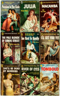 Books:Pulps, [Vintage Paperbacks]. Group of Nine Vintage Popular Library Eagle Paperbacks. New York: Popular Library, [1950s]. Includes w... (Total: 9 Items)