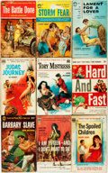 Books:Pulps, [Vintage Paperbacks]. Group of Nine Vintage Popular LibraryPaperbacks. New York: Popular Library, [1950s]. Includes works b...(Total: 9 Items)