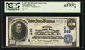 National Bank Notes:Tennessee, Memphis, TN - $100 1902 Date Back Fr. 689 The First NB Ch. #(S)336. ...