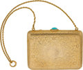 Estate Jewelry:Other , TURQUOISE, GOLD MINAUDIERE. ...