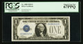 Small Size:Silver Certificates, Fr. 1600 $1 1928 Silver Certificate. PCGS Superb Gem New 67PPQ.. ...