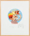 Music Memorabilia:Posters, Grateful Dead -- Stanley Mouse Ice Cream Kid LimitedRemarqued Edition Poster #50/100...