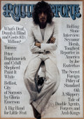 Music Memorabilia:Autographs and Signed Items, The Who - Roger Daltrey Signed Rolling Stone Poster...