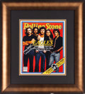 Music Memorabilia:Autographs and Signed Items, Eagles - Joe Walsh Signed Rolling Stone Cover (1979)....