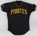 Baseball Collectibles:Uniforms, 1980's Pittsburgh Pirates Game Worn Jerseys Lot of 2. ...