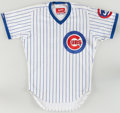 Baseball Collectibles:Uniforms, 1987 Chico Walker Game Worn Chicago Cubs Jersey. ...