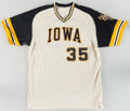 Baseball Collectibles:Uniforms, 1980's University of Iowa Game Worn Baseball Jerseys Lot of 3. ...