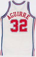 Basketball Collectibles:Uniforms, 1993 Mark Aguirre Game Worn Los Angeles Clippers Jersey....