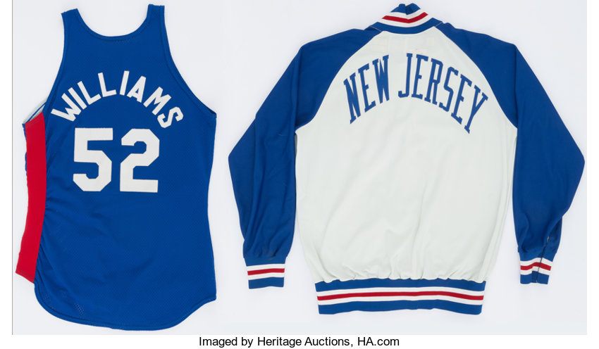 buy online 33807 96f38 1980's Buck Williams Game Worn New Jersey Nets Jersey and ...