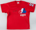 Baseball Collectibles:Uniforms, 1980's Tim Wallach Game Worn Montreal Expos BP Jersey. ...