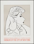 "Movie Posters:Animated, The Theatre Collection: Drawings by William Auerbach-Levy (Museumof the City of New York, 1977). Posters (4) (22"" X 27.75"")...(Total: 4 Items)"