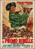 """Movie Posters:Action, Allegheny Uprising (RKO, R-1960s). Italian 4 - Foglio (55"""" X 78"""").Action.. ..."""