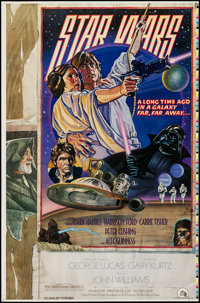 "Star Wars (20th Century Fox, 1978). Printer's Proof One Sheet (25"" X 38"") Style D. Science Fiction"