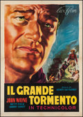"Movie Posters:Drama, The Shepherd of the Hills (Lux Film, R-1950s). Italian 4 - Foglio(55"" X 78""). Drama.. ..."