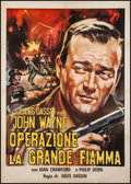"Movie Posters:War, Reunion in France (MGM, R-1960s). Italian 2 - Foglio (39"" X 55"").War.. ..."