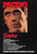 """Movie Posters:Crime, Scarface (Universal, 1983). One Sheet (27"""" X 39.5"""") Advance.Crime.. ..."""