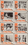 "Movie Posters:Sexploitation, As Nature Intended (Crown International, 1961). Lobby Card Set of 8(11"" X 14""). Sexploitation.. ... (Total: 8 Items)"