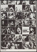 "Movie Posters:Rock and Roll, Gimme Shelter (20th Century Fox, 1970). Trimmed One Sheet (29.5"" X 41"") Photo Montage Style. Rock and Roll.. ..."