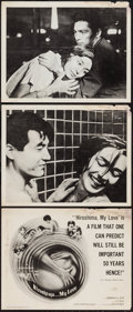 """Movie Posters:Foreign, Hiroshima, mon amour (Zenith International Films, 1960). Title Lobby Card & Lobby Cards (2) (11"""" X 14""""). Foreign.. ... (Total: 3 Items)"""