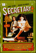 "Movie Posters:Romance, Secretary (Lions Gate, 2002). One Sheet (27"" X 40"") Comic Book Style. Romance.. ..."
