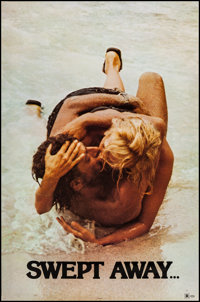 "Swept Away... by an Unusual Destiny in the Blue Sea of August (Cinema 5, 1975). One Sheet (27"" X 41""). Foreign..."