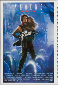 "Aliens (20th Century Fox, 1986). Printer's Proof One Sheet (28"" X 41""). Science Fiction"