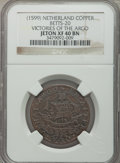 Betts Medals, (1599) Victories of the Argo, Netherlands, XF40 NGC. Betts-20.Copper....