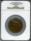 Expositions and Fairs, 1915 Panama-Pacific Exposition Award, Divine Disinvncta, MS62 NGC. Bronze, 70 mm.. From The Estate of Steven Rodin....