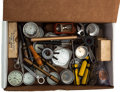 Timepieces:Other , Watch Tool & Movement Assortment. ...