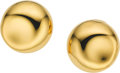 Estate Jewelry:Earrings, Elsa Peretti for Tiffany & Co. Gold Earrings. ...