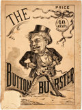Books:Literature Pre-1900, [Anonymous]. The Button Burster or, Fun on the Rampage. NewYork: M. J. Ivers & Co. Publishers, [circa 1870]. Wi...