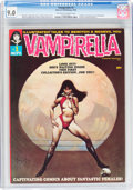 Magazines:Horror, Vampirella #1 (Warren, 1969) CGC VF/NM 9.0 Off-white to white pages....