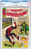Silver Age (1956-1969):Superhero, The Amazing Spider-Man #5 (Marvel, 1963) CGC VF/NM 9.0 Whitepages....