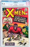 Silver Age (1956-1969):Superhero, X-Men #4 (Marvel, 1964) CGC NM+ 9.6 White pages....