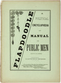 Books:Americana & American History, [William Henry Fuller]. Flapdoodle, A Political Encyclopedia andManual for Public Men. Toronto: Printed for the...