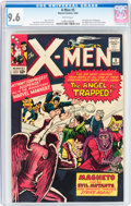 Silver Age (1956-1969):Superhero, X-Men #5 (Marvel, 1964) CGC NM+ 9.6 White pages....