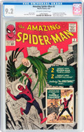 Silver Age (1956-1969):Superhero, The Amazing Spider-Man #2 (Marvel, 1963) CGC NM- 9.2 Off-white towhite pages....