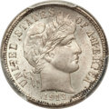 Barber Dimes: , 1913 10C MS66 PCGS. CAC. PCGS Population (36/0). NGC Census:(17/4). Mintage: 19,760,622. Numismedia Wsl. Price for problem...