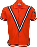 Basketball Collectibles:Uniforms, 1967-71 Earl Monroe Rookie-Era Game Worn Baltimore Bullets ShootingShirt....