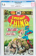 Bronze Age (1970-1979):Horror, Swamp Thing #23 (DC, 1976) CGC NM+ 9.6 Off-white to white pages....